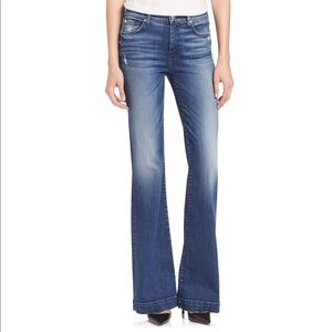 Seven For All Mankind Wide Leg Jeans